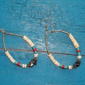 Earrings in Southwest Colors